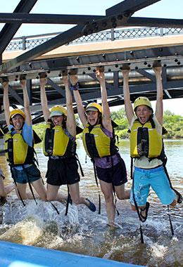Bridge Hang at Ottawa City Rafting