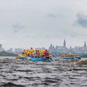 Breath Taking Views Rafting on the Ottawa River
